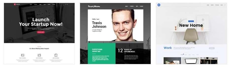 Шаблон персонального сайта – Готовый сайт за пять минут
