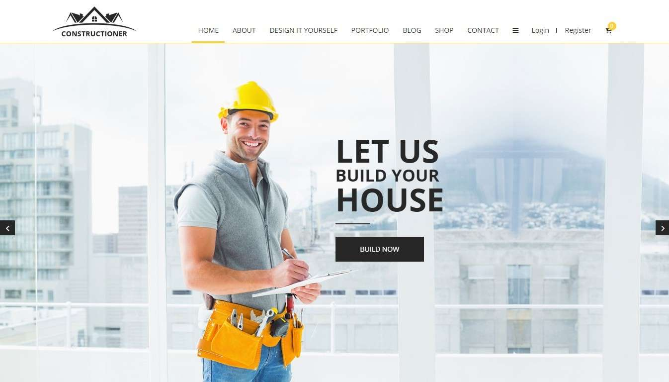 Шаблоны сайтов строительство домов и ремонт