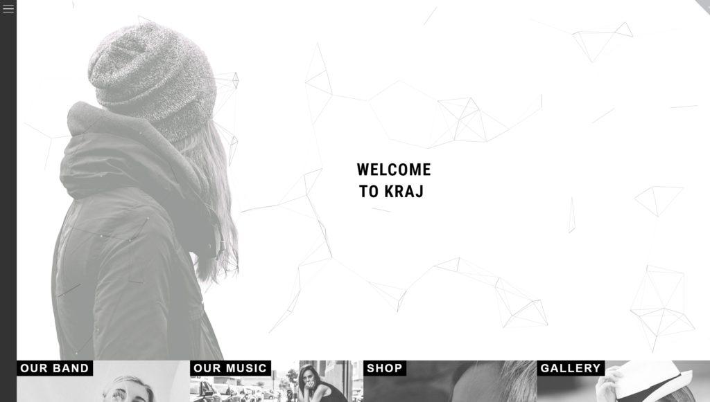 Лучший шаблон сайта музыки для музыкальных сайтов 02