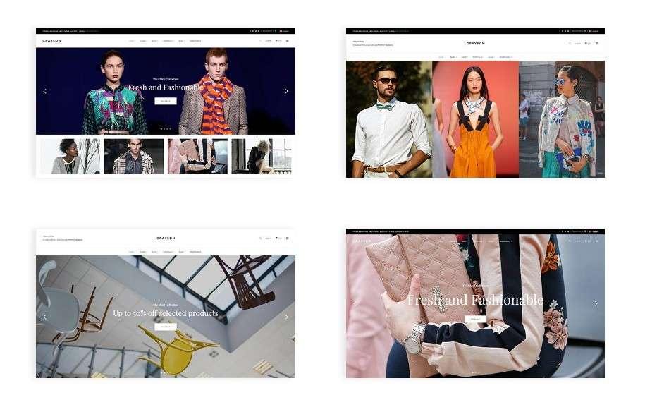 современные шаблоны WordPress для интернет магазина 3