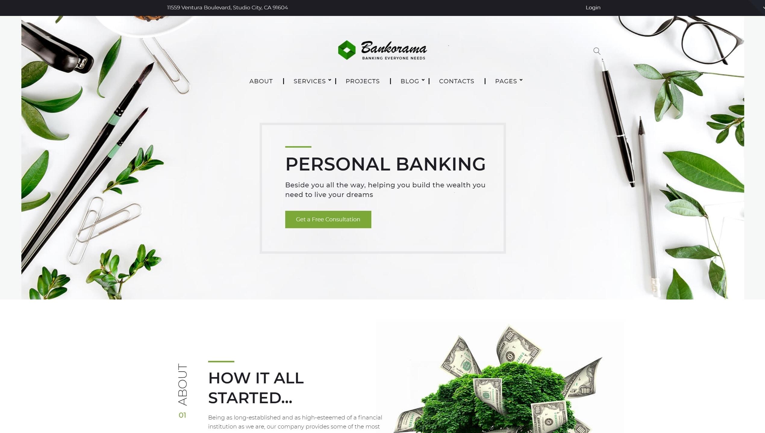 Шаблон сайта услуги – Готовые сайты для любой сферы