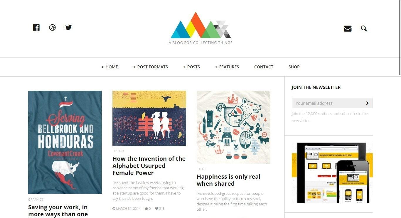 Шаблоны готовых веб сайтов 2017
