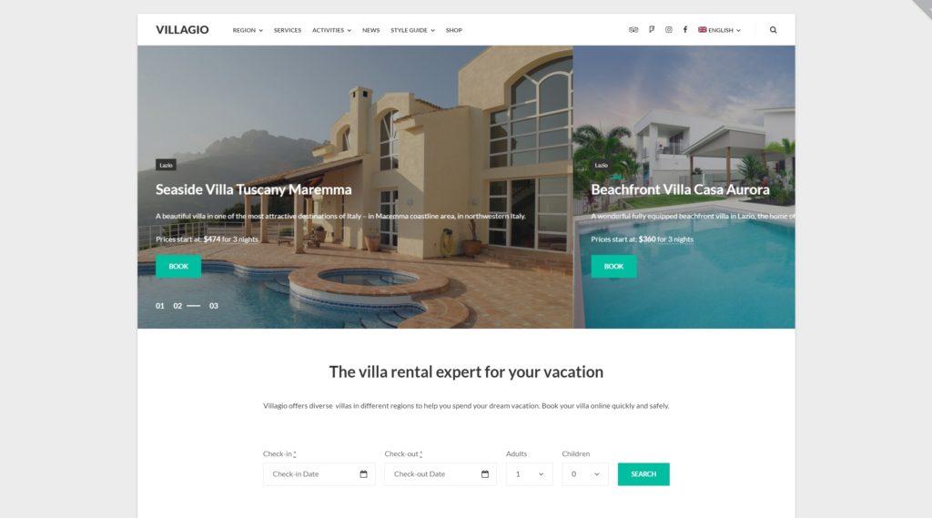 лучшие шаблоны сайта аренды с удобным каталогом для поиска 01