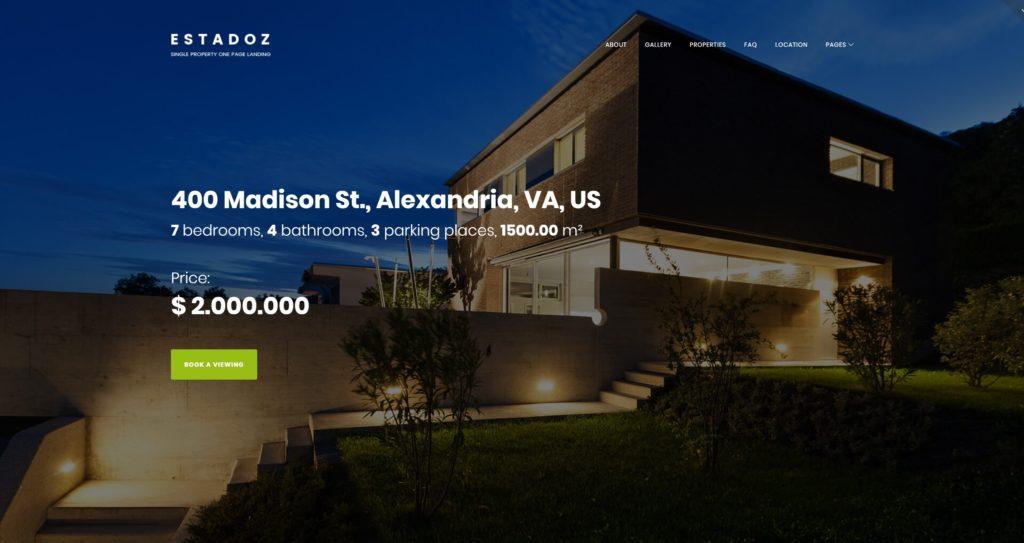 лучшие шаблоны сайта аренды с удобным каталогом для поиска 02