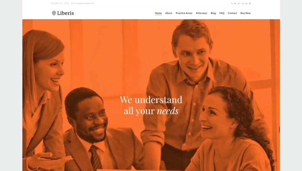 лучшие шаблоны юридических сайтов с возможностью записи на консультацию онлайн 05