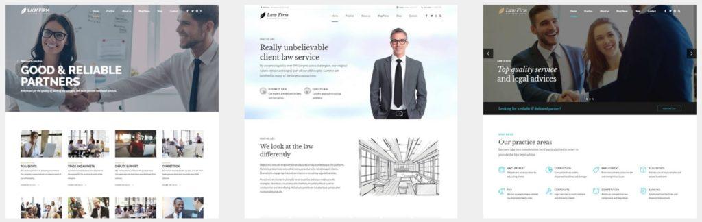 лучшие шаблоны юридических сайтов с возможностью записи на консультацию онлайн 06