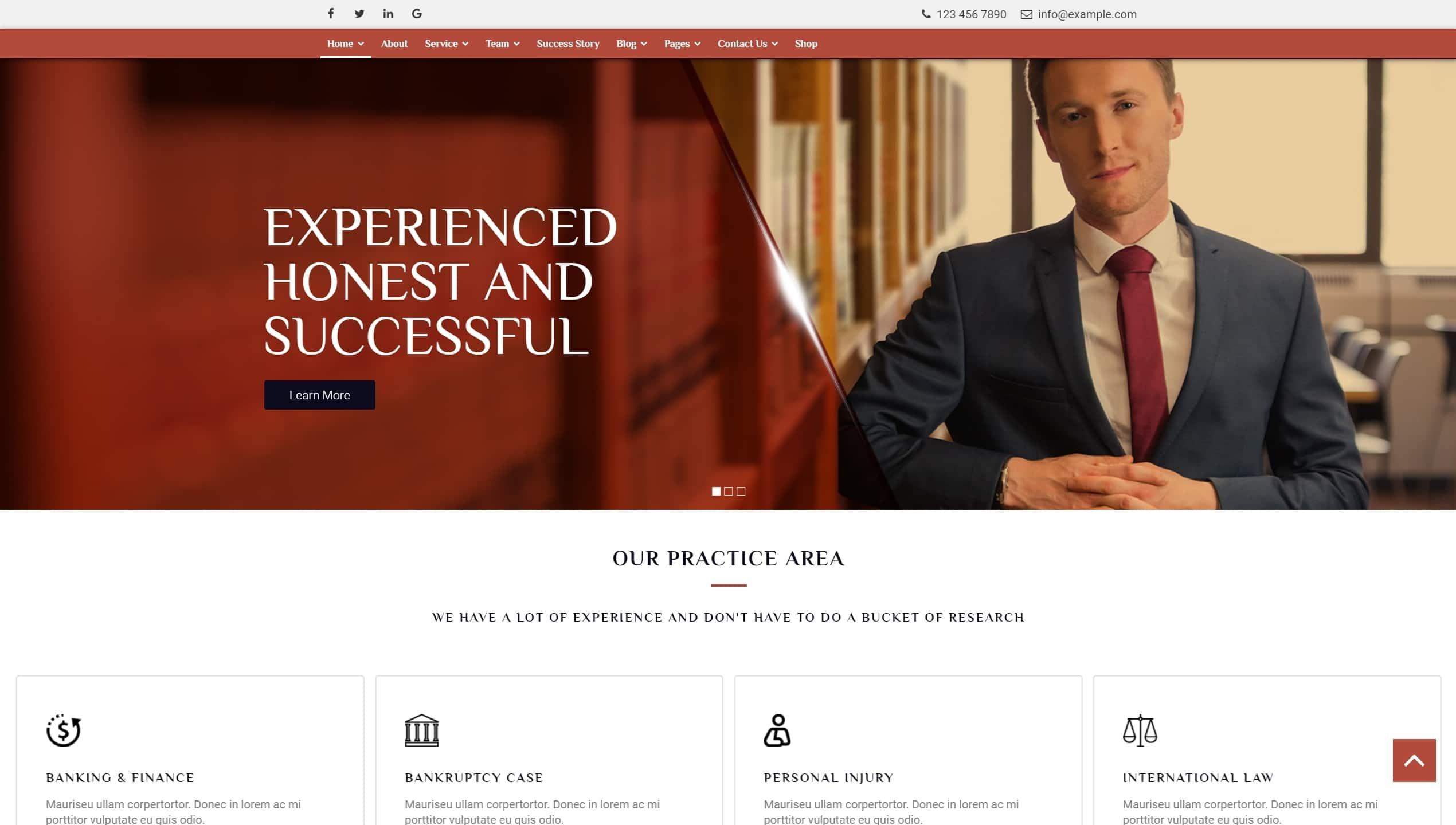 Лучшие шаблоны юридических сайтов для фирм и юристов с записью на консультацию