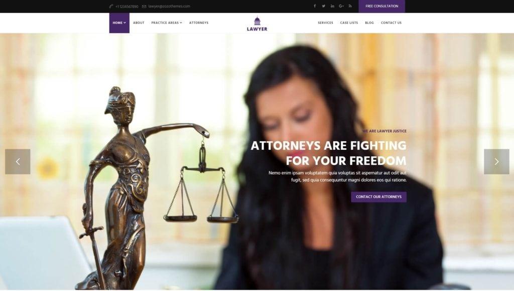 лучшие шаблоны юридических сайтов с возможностью записи на консультацию онлайн 08