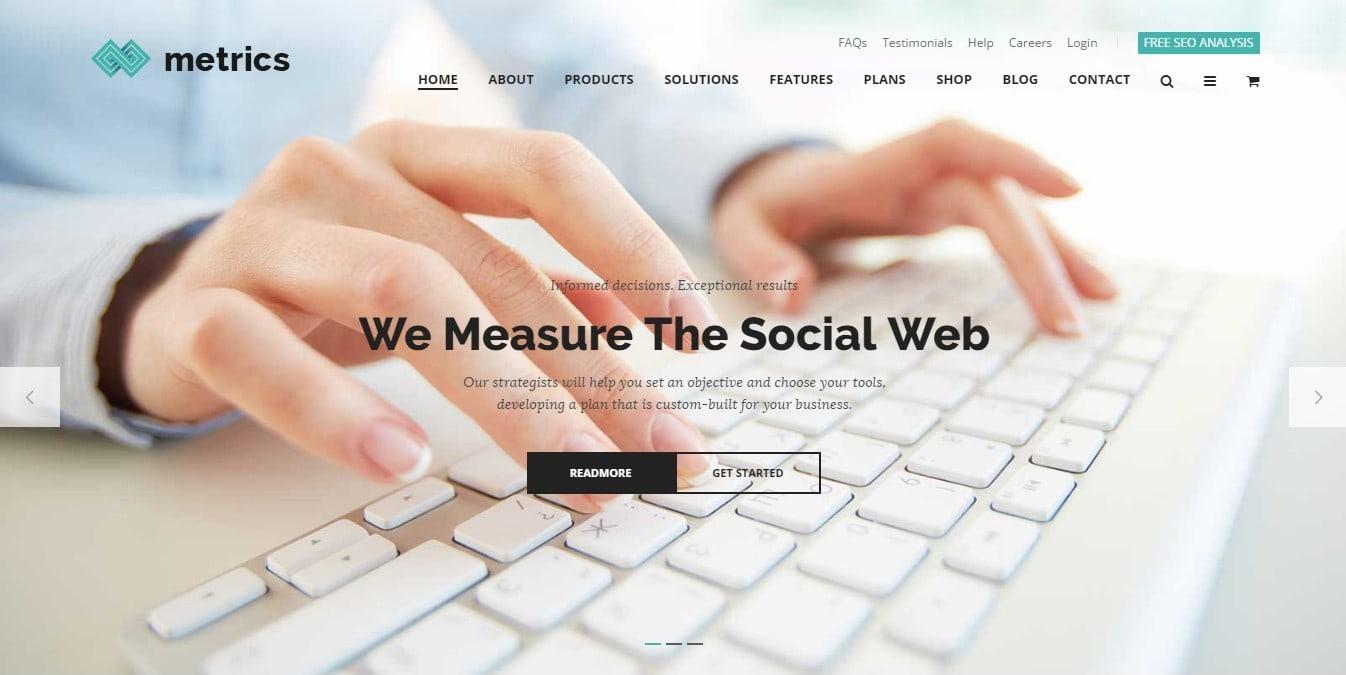 Шаблон сайта фирмы