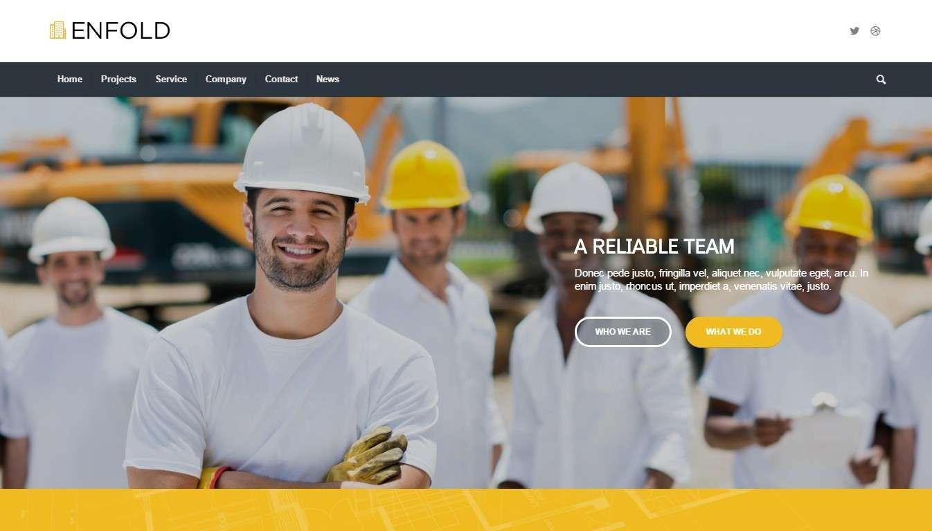 Готовый сайт строительство – Премиум решение на WordPress