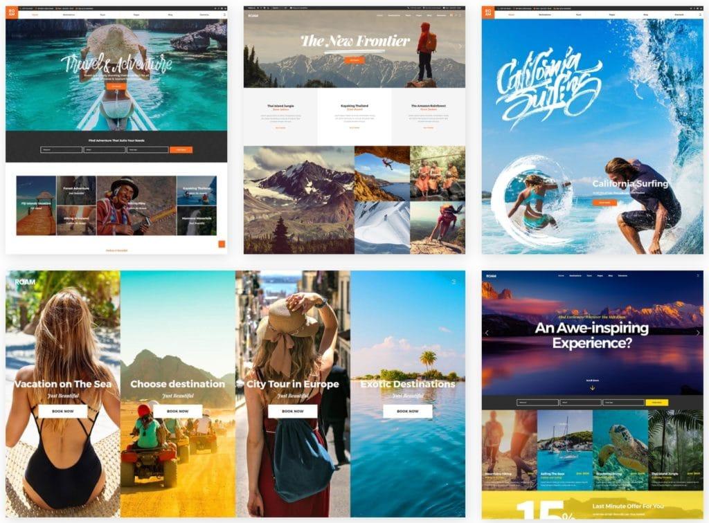 русские WordPress туризм шаблоны для успешного бизнеса 08
