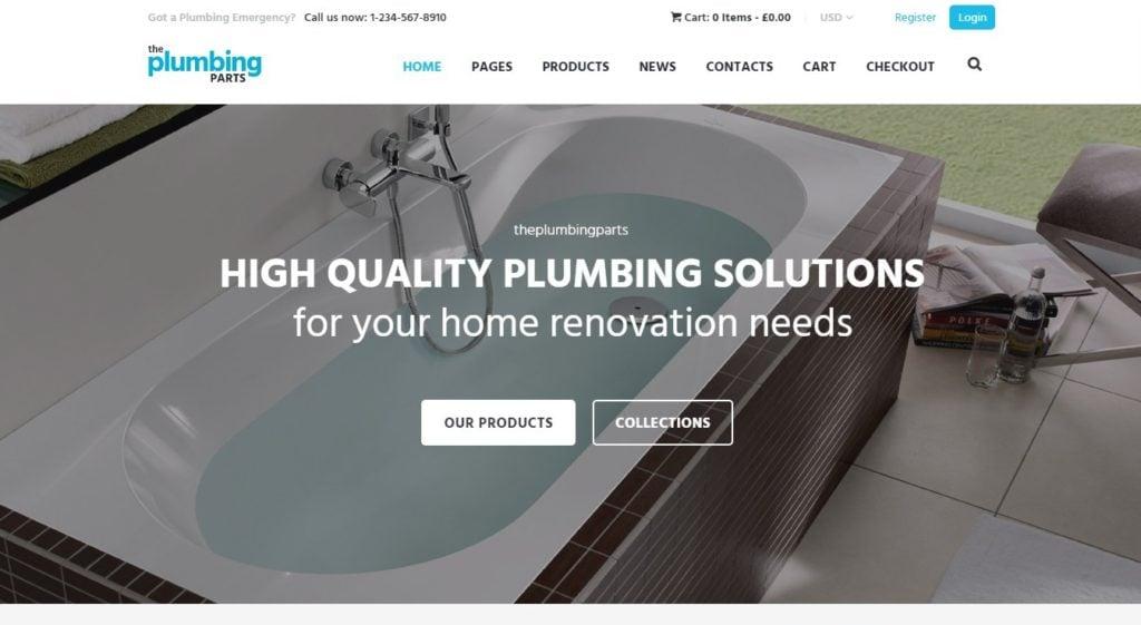хороший шаблон сайта стройматериалов