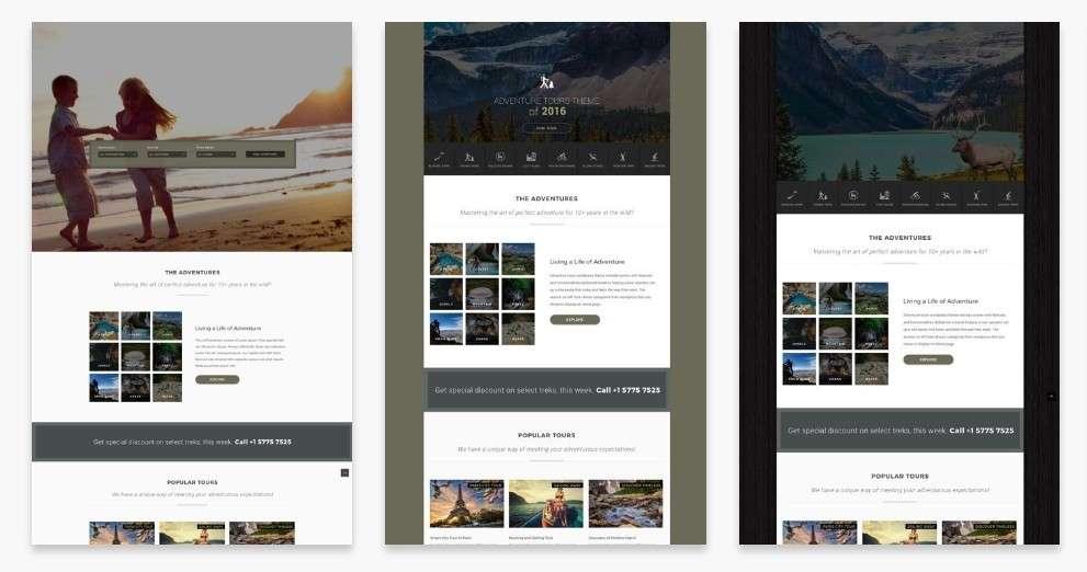 WordPress туризм - первоклассный сайт с премиум дизайном 4