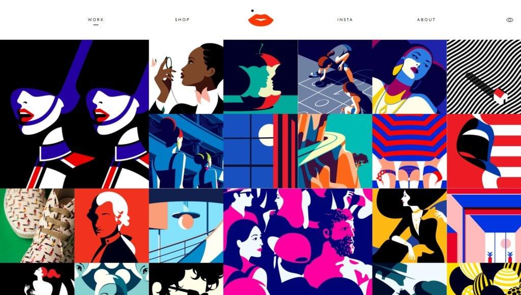 лучшие шаблоны WordPress для портфолио с образцами и красивыми галереями 07