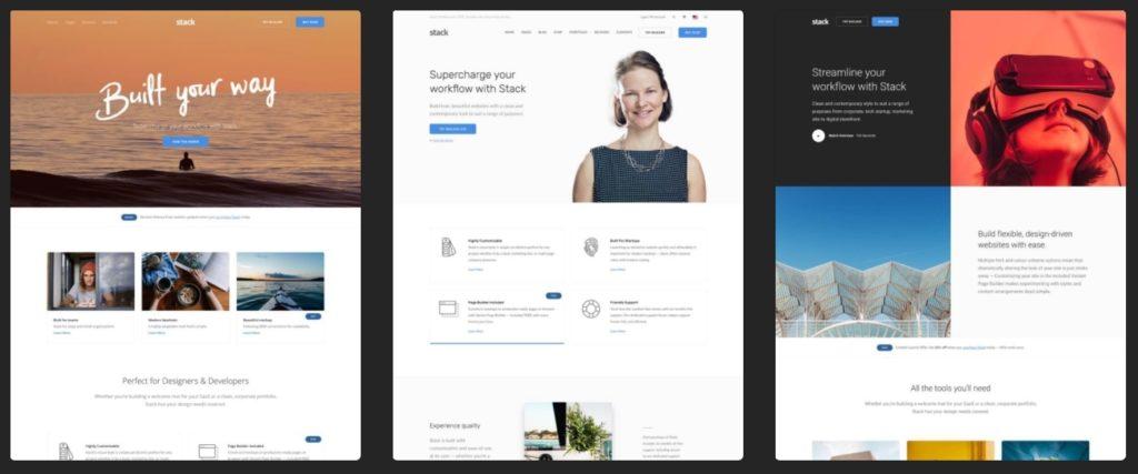лучшие шаблоны WordPress для портфолио с образцами и красивыми галереями 09