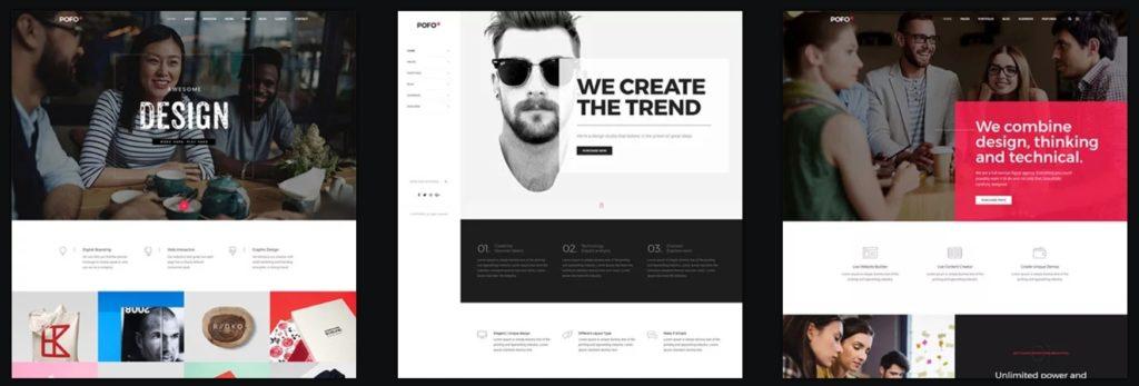 лучшие шаблоны WordPress для портфолио с образцами и красивыми галереями 14