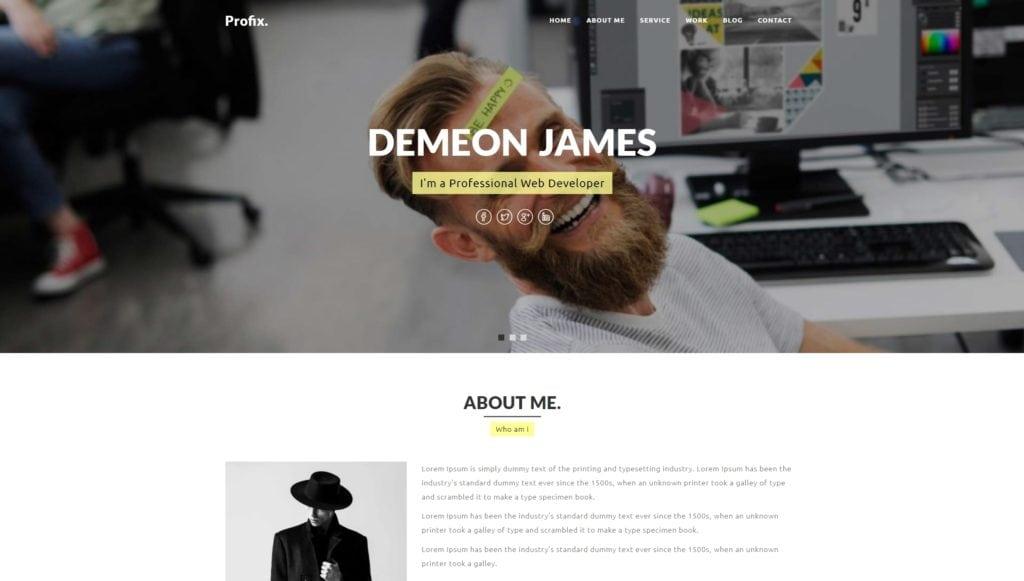 лучшие шаблоны WordPress для портфолио с образцами и красивыми галереями 15