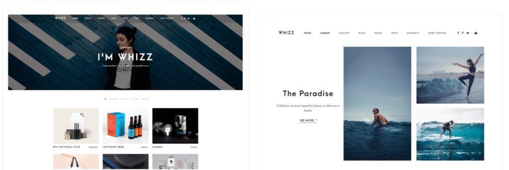 лучшие шаблоны WordPress для портфолио с образцами и красивыми галереями 16