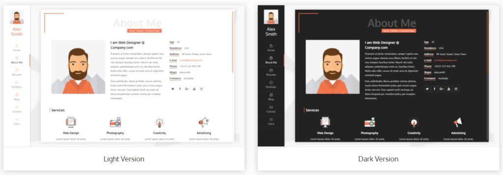 лучшие шаблоны WordPress для портфолио с образцами и красивыми галереями 18