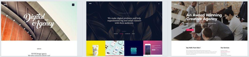 лучшие шаблоны WordPress для портфолио с образцами и красивыми галереями 19