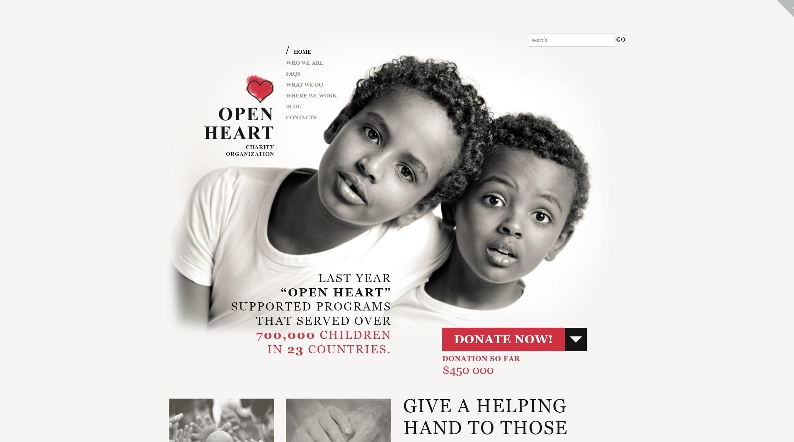 WordPress темы для некоммерческих организаций и благотворительности