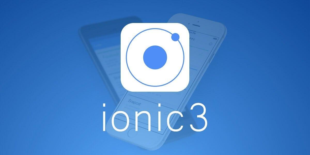 Курсы Ionic 3 с созданием чата, магазина и приложения MyTasks