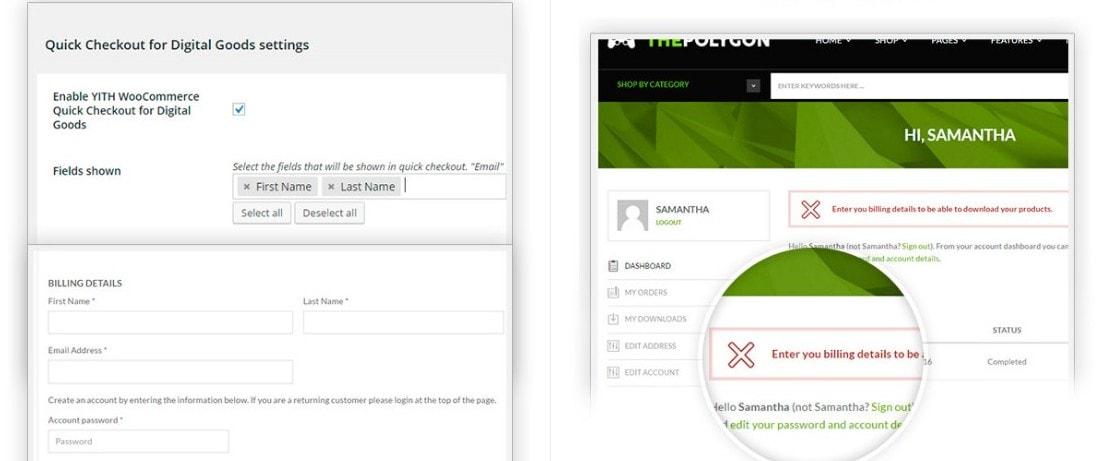 WooCommerce виртуальные товары плагины и шаблоны для их продажи 7