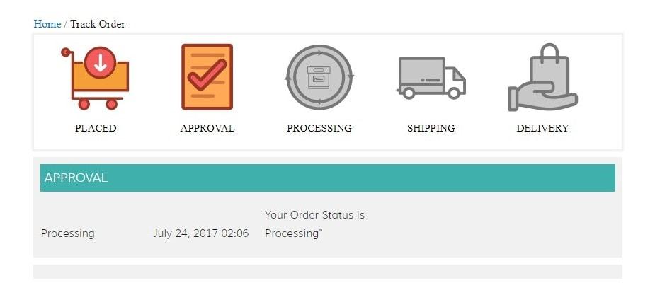 WooCommerce отслеживание посылки – Простые покупки в вашем магазине 5