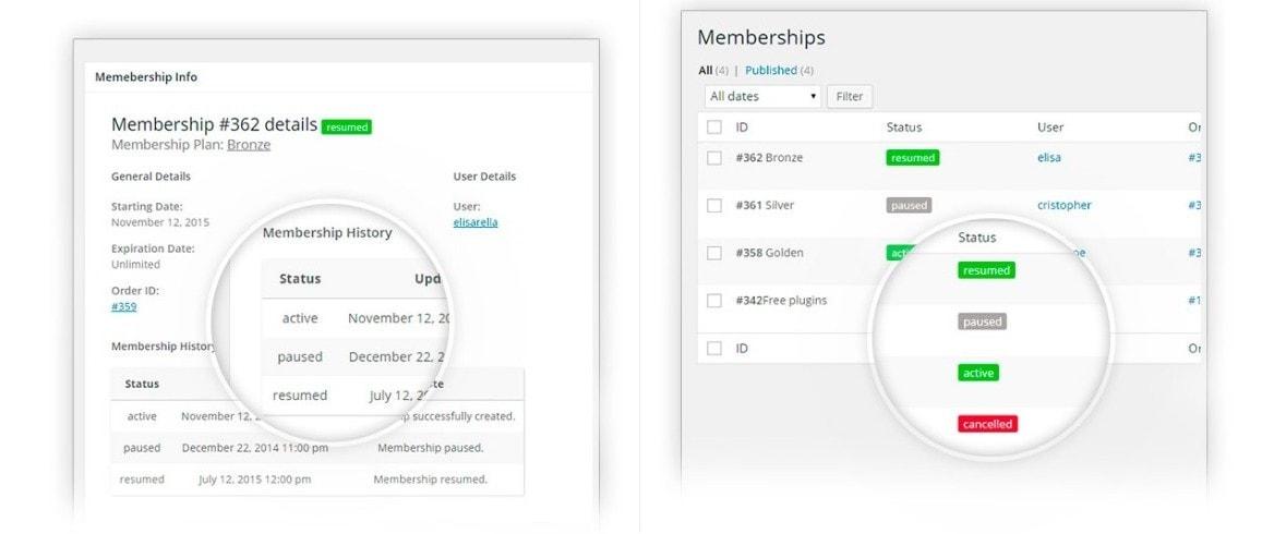 WooCommerce Membership – Премиум плагины 2017 2