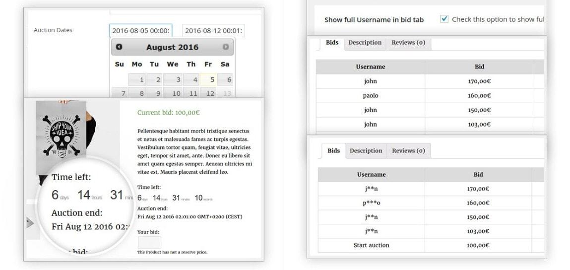WordPress аукцион – Создайте сайт аукционов в духе eBay 3