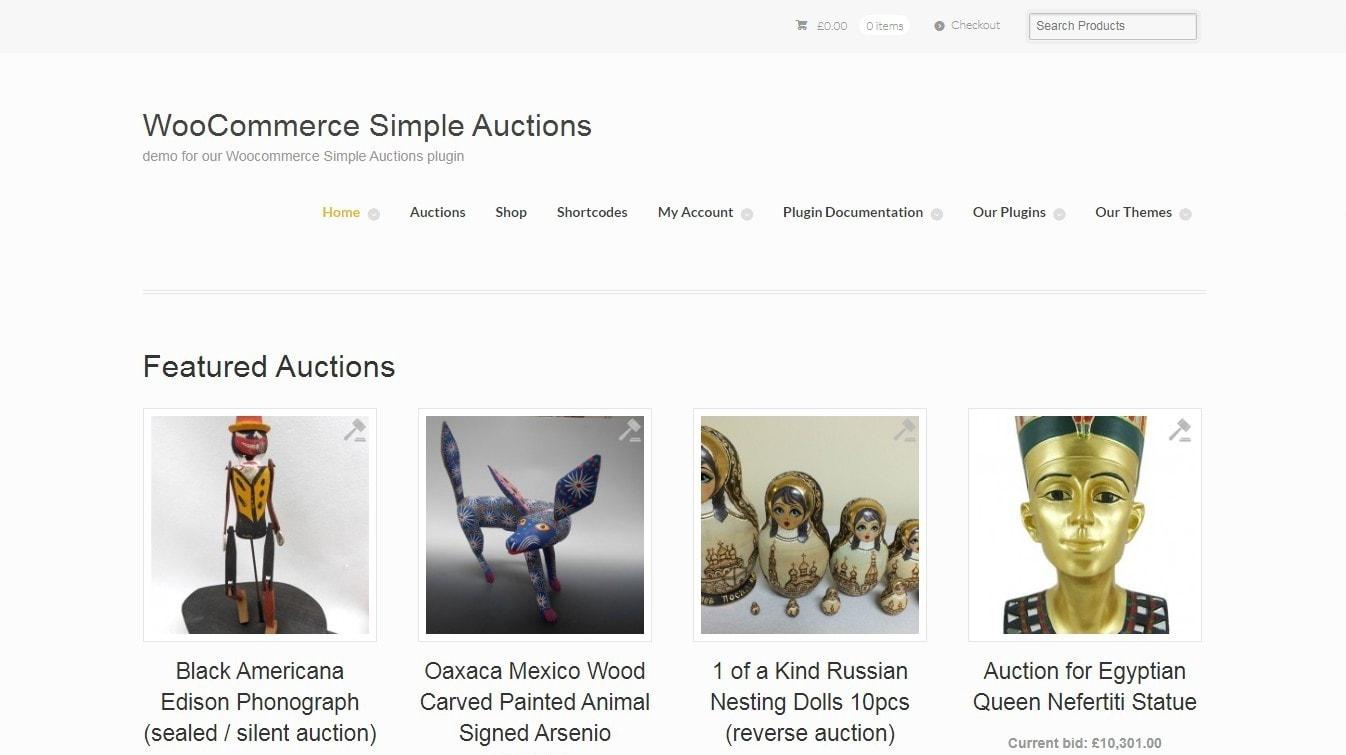WordPress аукцион – Создайте сайт аукционов в духе eBay 4