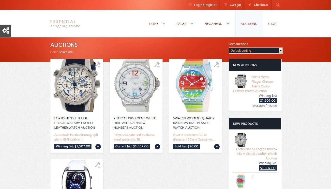 WordPress аукцион – Создайте сайт аукционов в духе eBay 6