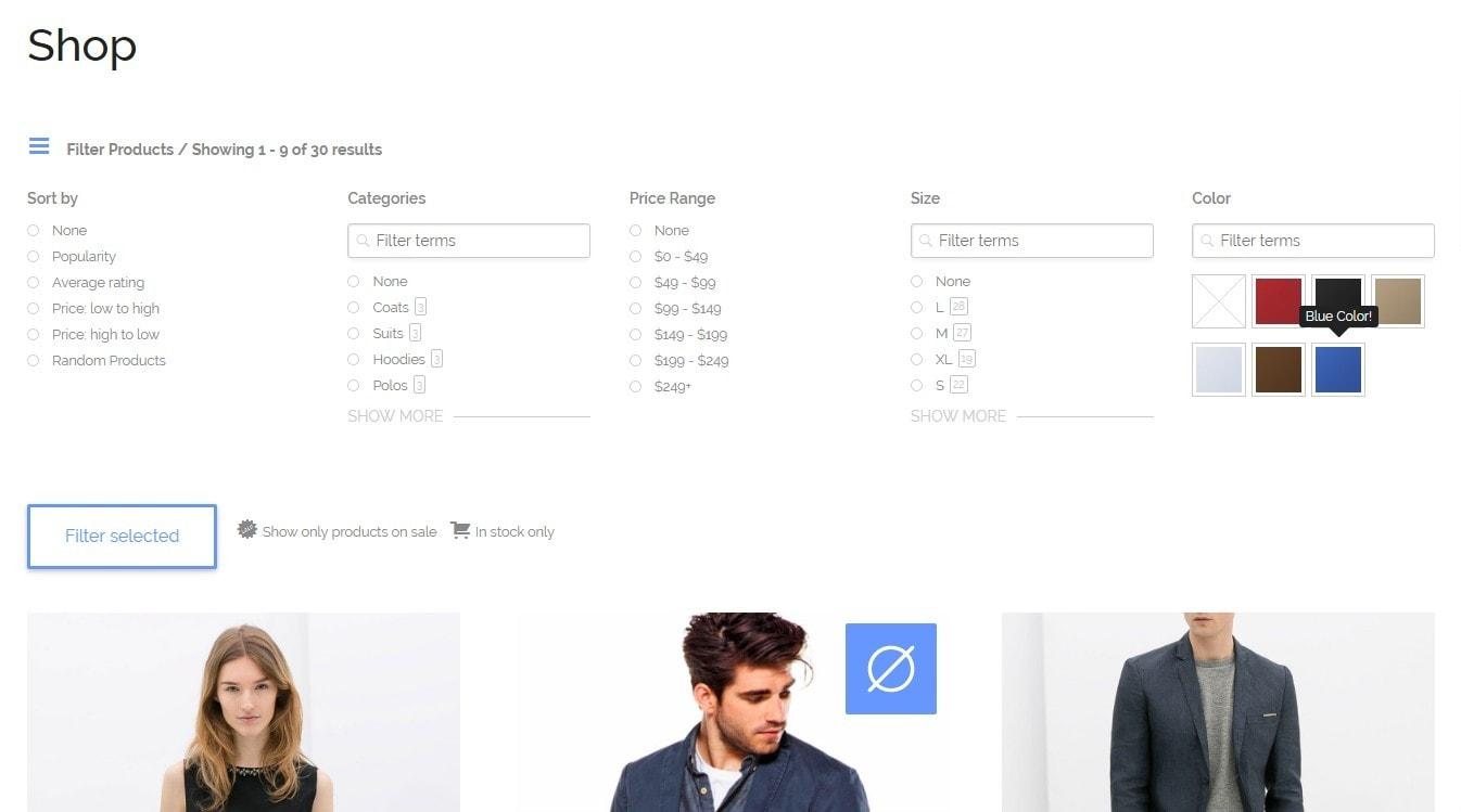 атрибуты WooCommerce: лучшие плагины для быстрых и удобных покупок 6