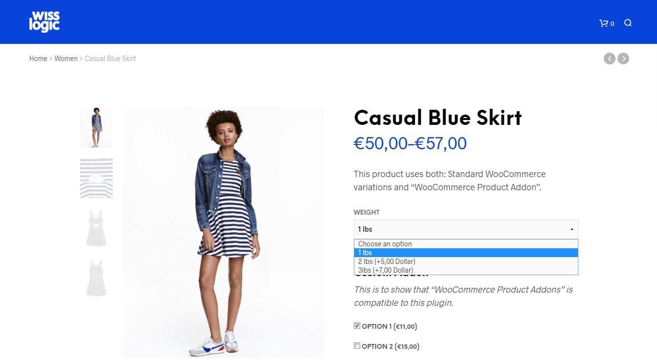 вариативный товар WooCommerce: продажа товаров на любой вкус 6