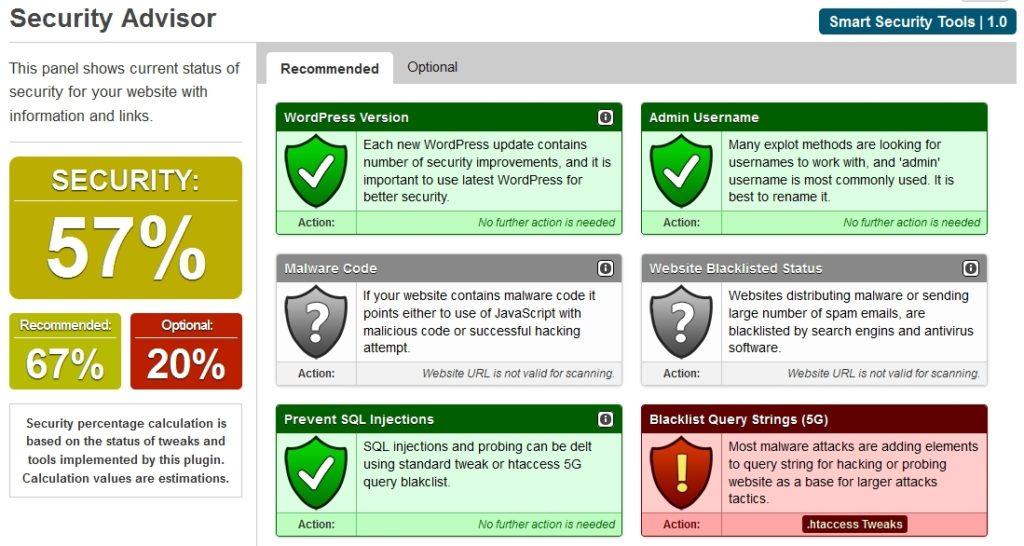 защита WordPress: плагины для защиты от спама, вирусов, взлома и копирования 02