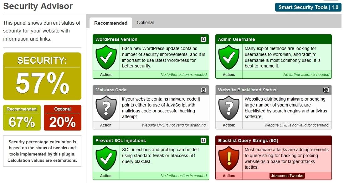 Защита WordPress: плагины защиты от спама, вирусов и взлома