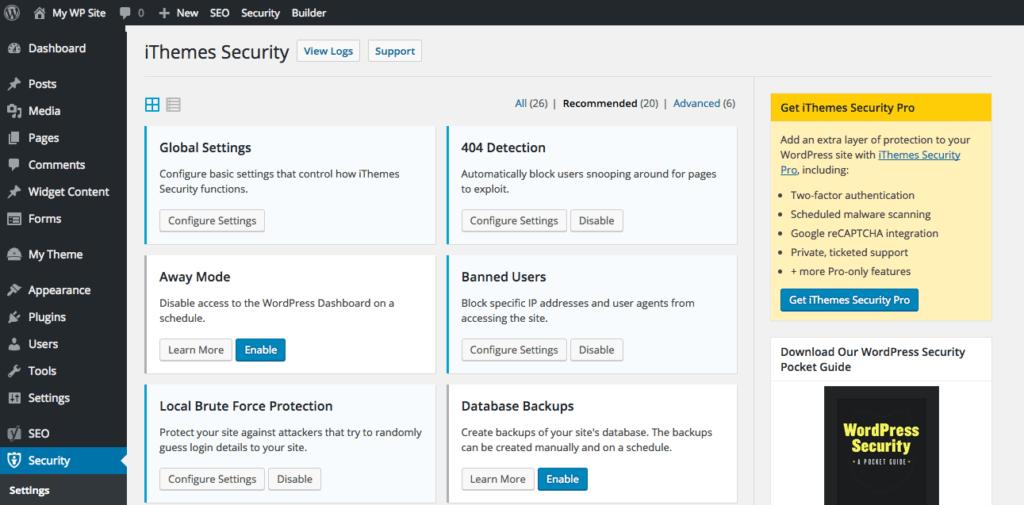 защита WordPress: плагины для защиты от спама, вирусов, взлома и копирования 13