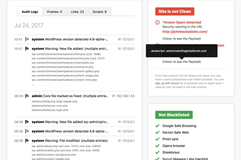 защита WordPress: плагины для защиты от спама, вирусов, взлома и копирования 14