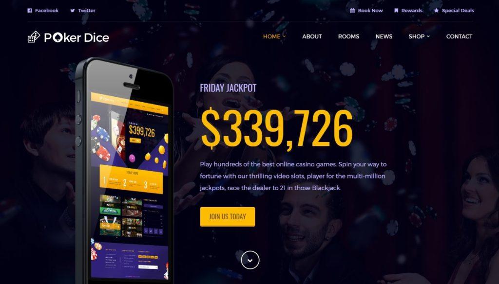 шаблон сайта казино – лучшее решение для прибыльного бизнеса 2