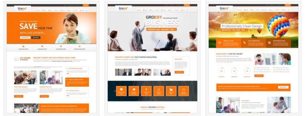 адаптивные шаблоны Joomla для бизнеса, блога, журнала и магазина 3