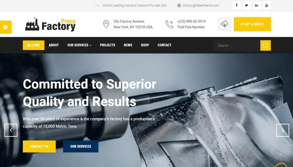 адаптивные шаблоны Joomla для бизнеса, блога, журнала и магазина 6
