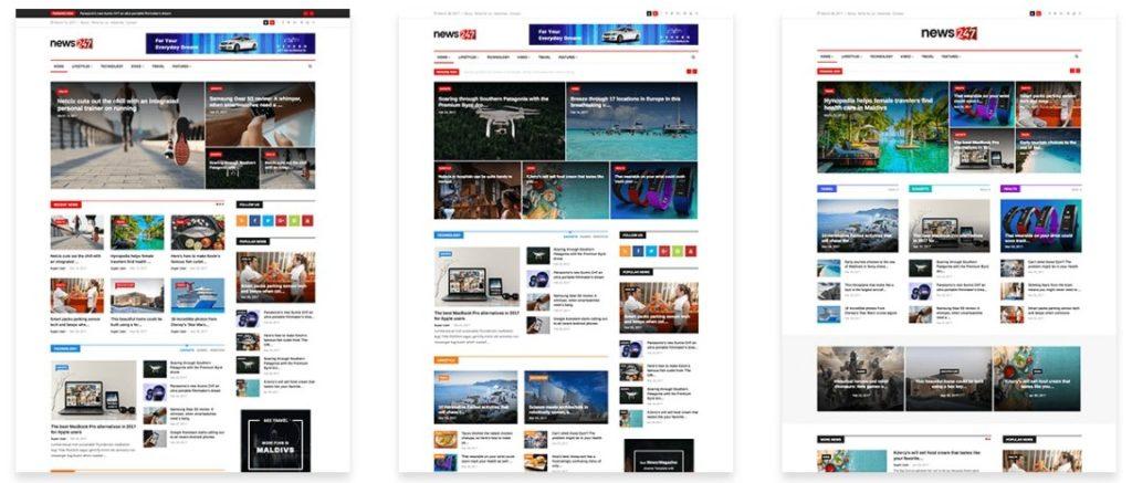 адаптивные шаблоны Joomla для бизнеса, блога, журнала и магазина 7