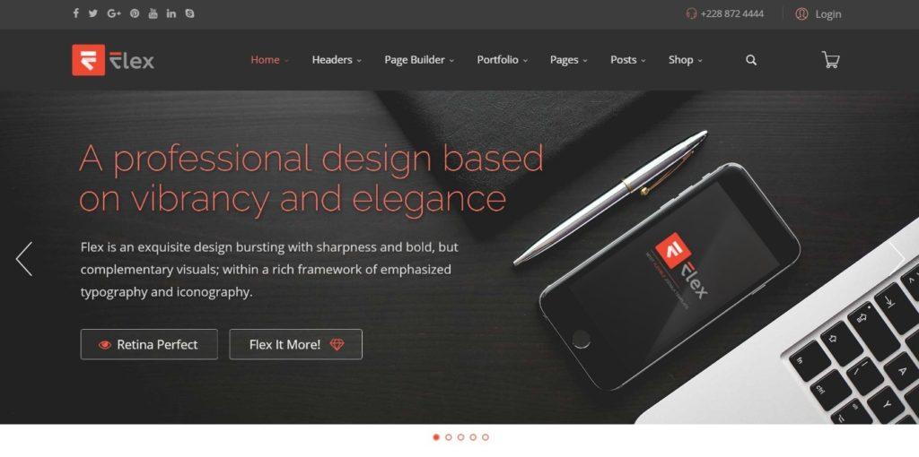 адаптивные шаблоны Joomla для бизнеса, блога, журнала и магазина 8