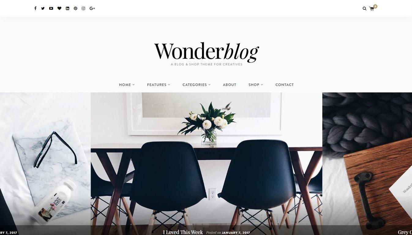 Красивые шаблоны сайтов: готовый блог, портфолио, магазин или лендинг
