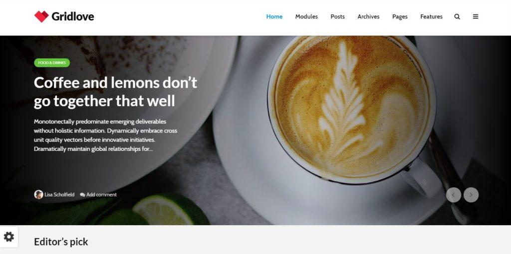 красивые шаблоны сайтов: готовый блог, портфолио, магазин или лендинг 05