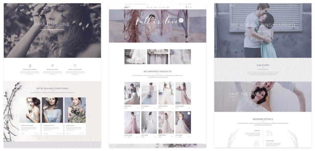 красивые шаблоны сайтов: готовый блог, портфолио, магазин или лендинг 06