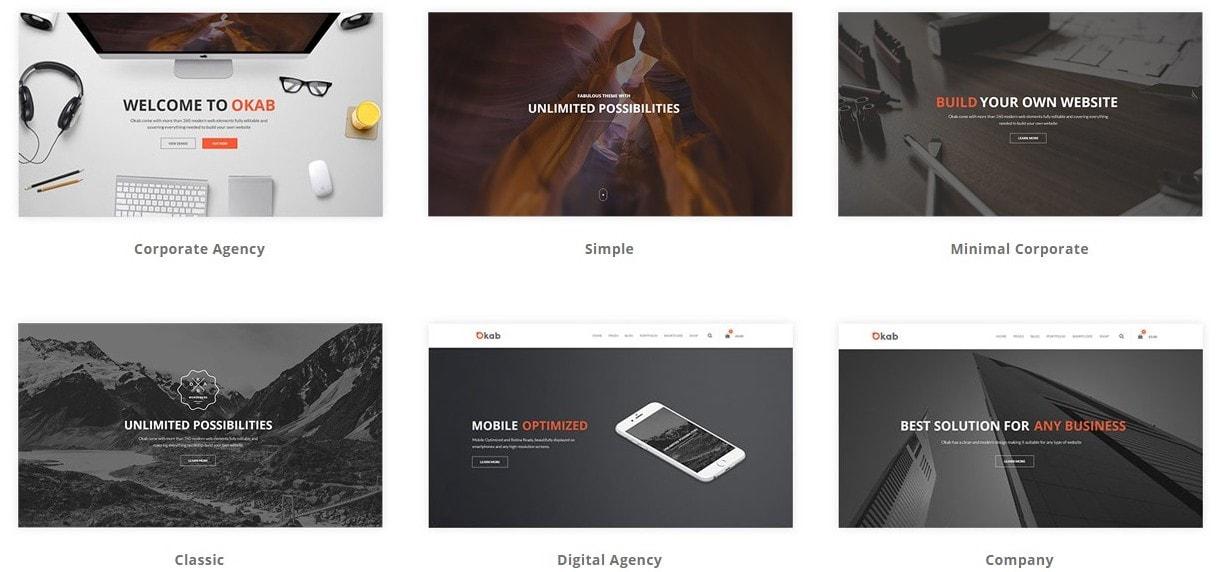 Лучшие шаблоны веб сайтов 2018 с современным дизайном