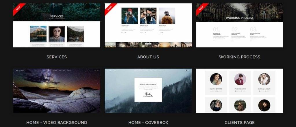 лучшие шаблоны веб сайтов 2018 с современным функционалом и дизайном 07