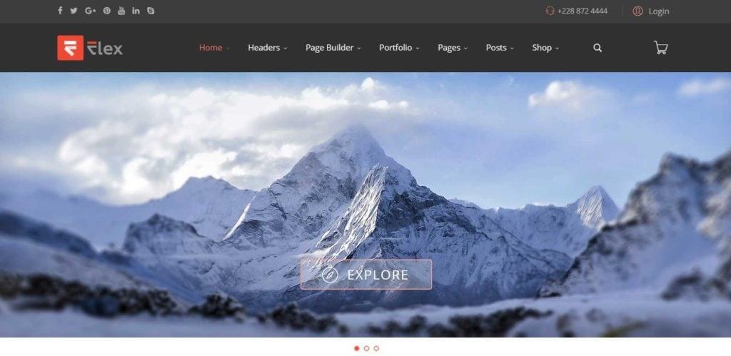 премиум шаблоны Joomla: готовый блог, бизнес-сайт, портфолио и магазин 01