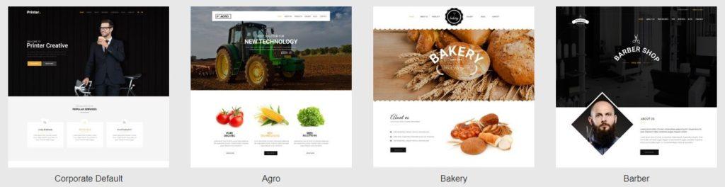 премиум шаблоны Joomla: готовый блог, бизнес-сайт, портфолио и магазин 03
